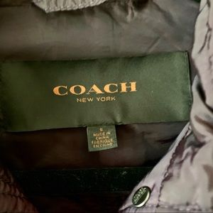 Coach Jackets & Coats - COACH quilted puffy jacket